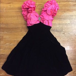 ORIGINAL TAGS VINTAGE 80's PROM DRESS